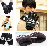 Cersky man gloves fashion 2012 tide winter leather outdoor cycling warm non-mainstream anorak upset
