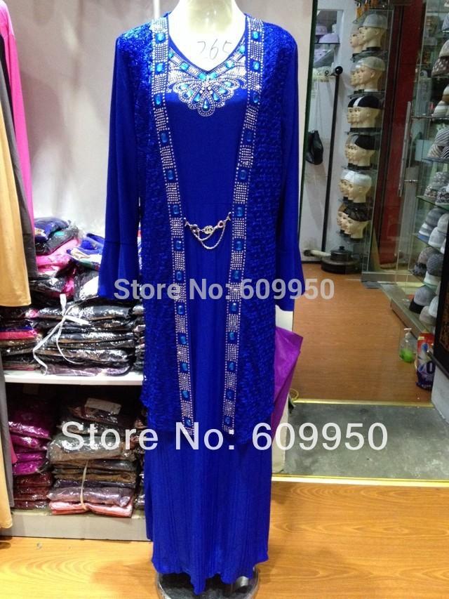laj041 дешевые мусульманских Абая с вышивкой