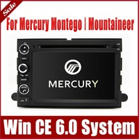 "7"" In Dash Car DVD Player for Mercury Montego/ Mountaineer with GPS Navigation Radio Bluetooth RDS USB Map TV Stereo Audio Video"