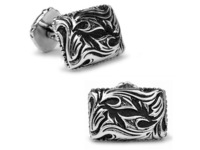 Platinum Plated Sparta Gladiator Cufflinks men's Cuff Links + Free Shipping !!! gift metal buttons