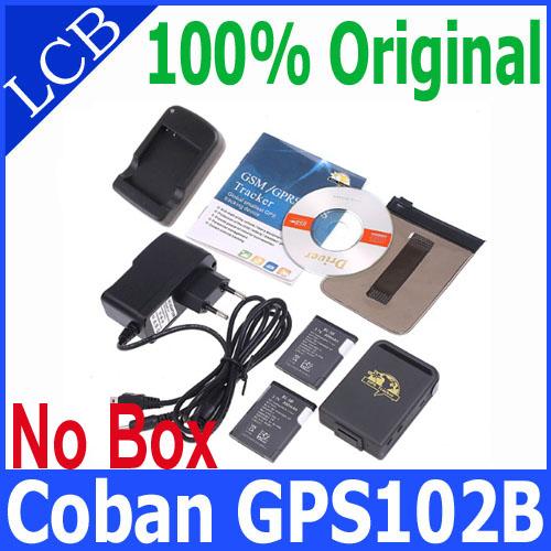 Free shipping Coban GPS 102B personal GPS Track for pets TK102B with Memory Slot and Inbuilt Shock Sensor and Sleep Function(China (Mainland))