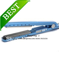 High Quality Nano Titanium Ceramic Hair Straightening Hair Straightener Iron1 1/4'' Plate Width Free shipping