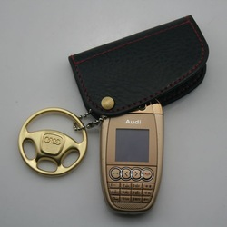 Free shipping! new quad band mini car key phone A7 small size mobile phone(China (Mainland))