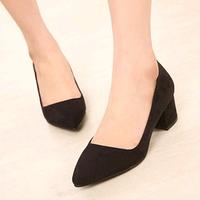 2014 spring Fashion leather pumps women basic Work Shoes Ladies Wedge pumps Platform Casual Shoes women ninemeng