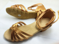 Free shipping 3pairs Girls Latin Shoes Leather Soft Hole Dance Shoes For Sell