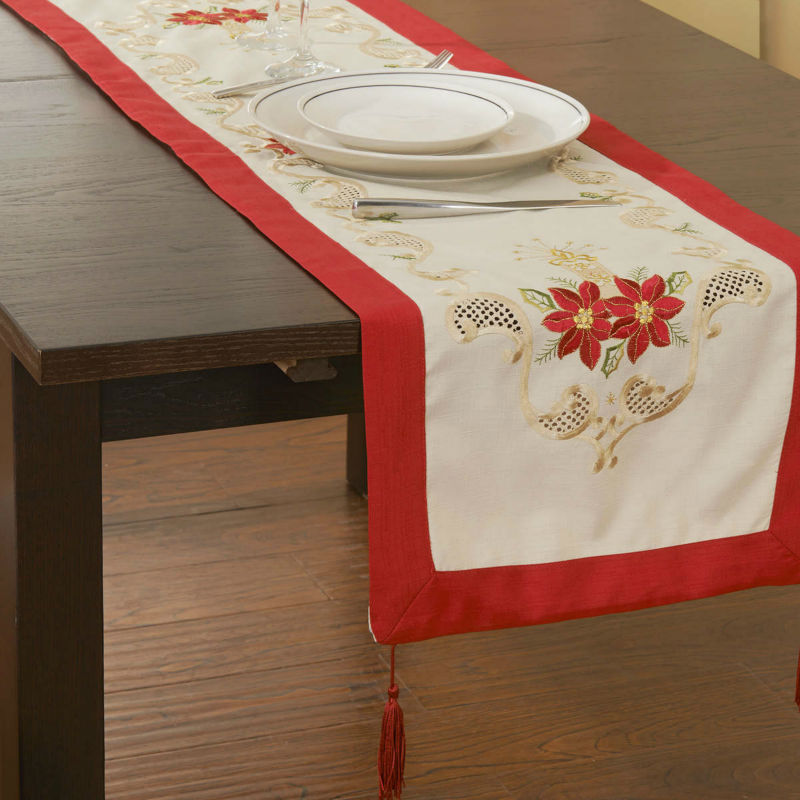 Clearance Sale 40x130cm Christmas Table cloths table runner(China (Mainland))