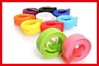 Wholesale mix colors fashion belt  &Silicone Belt, 50pc /lot Fedex  Freeshipping