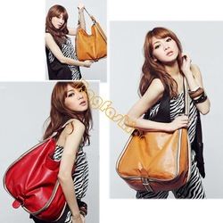 2013 New Fashion bags women sale Leisure Big bags for girls PU Leather Bag stylish handbags 2 Colors 5603(China (Mainland))