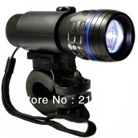 2012 Hot Sell CREE Q5 240 Lumen LED Aluminum Bike Head Zoomable Light Torch + Holder  For Night Lighting SA37x1