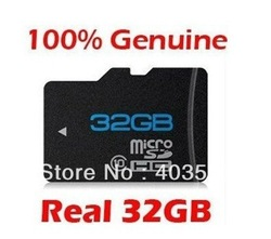 From Famous Brand Real 16GB 32GB MicroSD Micro SD / TF Memory Card FREE SHIPPING(China (Mainland))