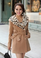 Nice quality new arrival fashion winter coat cashmere women 2014, coat winter women long with hooded, size M/L/XL