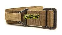 Tactical sling mens stock  2012NEW!  Sand military Blackhawk CQB belt outdoor canvas waistband belt