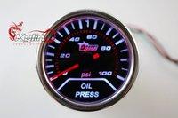 "2"" 2INCHES 52mm Oil Pressure Gauge LED Universal AUTO GAUGE Car meter Auto gauge"