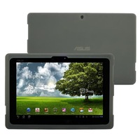 Silicone Skin Cover Case for Asus Eee Pad Transformer TF101 Tablet - Smoke Free Shipping