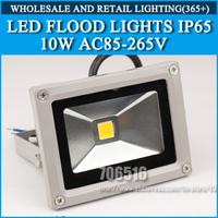 1pcs LED Flood Light Outdoor Lighting Floodlight 10W AC85-265V IP65 warm white / Cold white Free Shipping