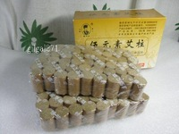 Three Years Old Moxa Cone Sticks  For Moxibustion Self-help Restored to Health /Lose Weight  108  Segments Per Pack