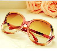 New Arrival Fashion Women Sunglasses Brand New Large Frame Anti-UV Sunglasses KC Y181