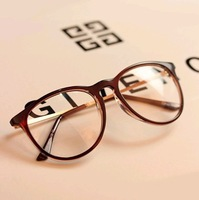 Fashion brand clear lens eyeglasses frame Big Box metal optical Glasses Frame Round Box Eyeglasses Frames for women, Kc Y269