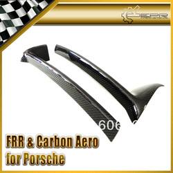 For Porsche 06-09 Cayman Carbon Rear Bumper Bottom Lip(China (Mainland))