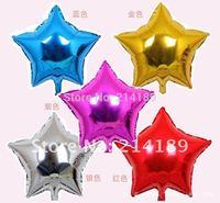 free shipping 18inch aluminum foil cartoon balloon pentagram