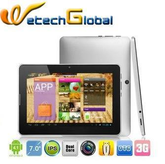 "Pipo U1 Pro Tablet pc 7"" IPS 1280x800 Android 4.1 Dual core 1.6GHz 1GB RAM 16GB Bluetooth WIFI Camera Free Shipping"