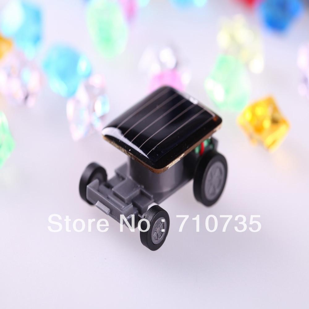 Solar powered mini car toy, solar mini racer(China (Mainland))