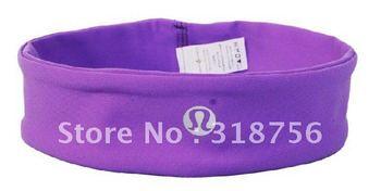 7pcs/lot Lululemon Brand Yoga Headband Lucky Luon Hair Band Sport Accessories Wholesale Best Discount  Free Shipping