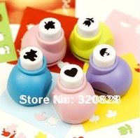 Free shipping 20pcs/lotSmall size craft paper punch/Lovely embossing machine/DIY Craft handmade greeting cards tool scrapbooking