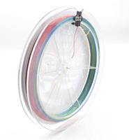 free shipping 1pcs fishing line 150m  PE BRAID  multicolour Thin diameter  accurate casting braided fishing line 150m