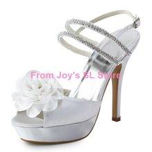 popular white wedding sandals