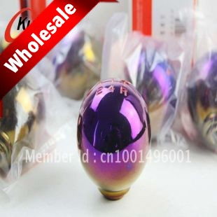 Neo chrome Shift knob Fit for Honda CIVIC FD 2