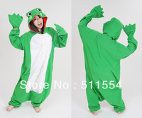 Kigurumi Cosplay Pajamas Party Frog for halloween and christmas party mascot costumes Animal costume Free DHL Shipping