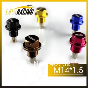 (10 pcs/lot )M14*1.5 High quality  magnetic oil drain plug  magnetic oil sump drain plug nut