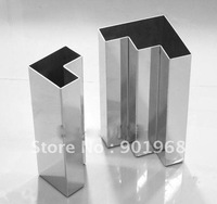 Home decor stainless steel flower vase-flower pot-vase-2pcs per set