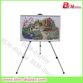 easel show self showing stand pop spider LED writing board display equipment(China (Mainland))