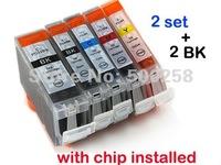 12 pcs New Compatible ink cartridge for Canon PIXMA Printer IP4200 IP3300 MP500 MP960 MP970 PGI-5/CLI-8