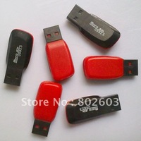 100 pcs free shipping wholesale usb card reader t-flash card reader,micro sd card reader