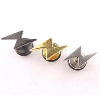 Free Shipping 10pcs/lot Fashion Mixed Color Punk Style Lightning Fake Ear Plug Body Jewelry Women&Men's Stud Earrings Screw