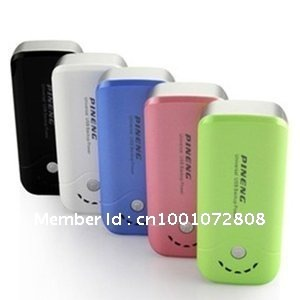 2012 NEWS 5000mAh move power Backup Battery 3G Charger with LED Torch for Smartphones