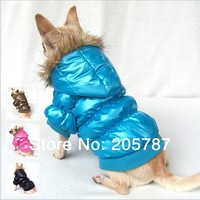 HOTL SALE fashion 100% quality assured 4 colors winter warm dog clothes,designer dog clothes(WP104)