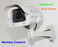 New Arrival!! Solar Power Dummy Fake Security CCTV CCD Flashing LED Camera professional Surveillance Free Shipping