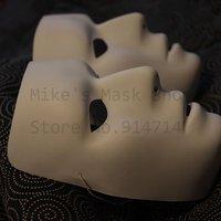 50 pcs/lot THIN BAND Jabbawockeez mask white hip-hop mask