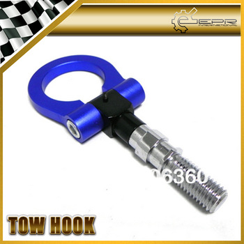 M18X2.5 Thread Blue JDM Racing Tow Hook Rally Drift FOR JAPAN VEHICLE MITSUBISHI EVO 7 8 9 FTO OUTLANDER