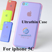 New Arrival PC Ultrathin Cover For apple iphone 5C iPhone5C Fashion Design Free Shipping 10 Pcs Many Colors In Stock