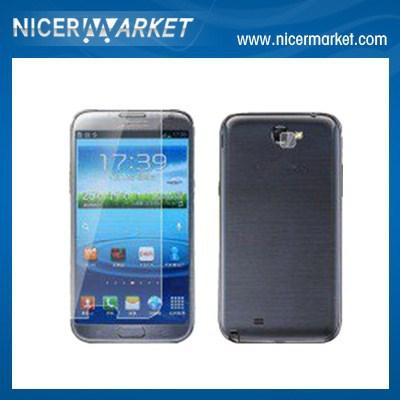 Защитная пленка для мобильных телефонов Samsung Note2 N7100 , 50pcs/lot, зарядное устройство для мобильных телефонов note2 samsung note2 n7100 2