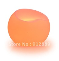 FREE SHIPPING + LED Furniture + Garden Stool +  Luminous Bar Ball Chair +58x58x47CM +16 Colors change +High Quality
