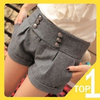 New fashion winter 2015 Cotton Casual Slim women Shorts Sweet Warm womens short  pants Top Brand Fashion Korean Style feminino