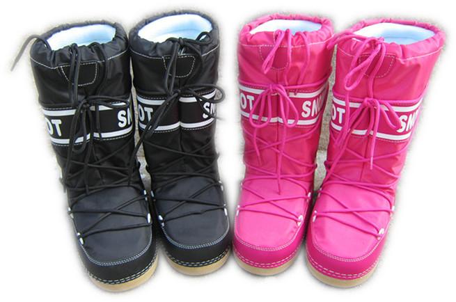 Womens Ladies Girls Classic Fashion Warm Winter Moon boot Snow boots(China (Mainland))