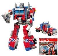 DIY Christmas gift Enlighten Child 8023 educational toys Robot KAZI building block sets,children toys for kid free Shipping