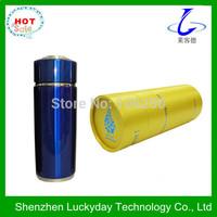 Free shipping Nano energy tourmaline alkaline water flask / bottles with yellow round tube